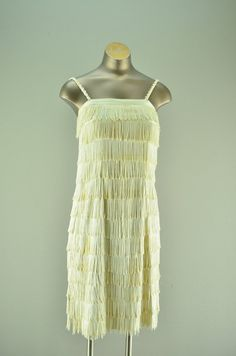 1960s flapper costume / Vintage fringe dress / 1920s by melsvanity, $48.00