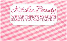 Kitchen items you can use as beauty aids? awesome!