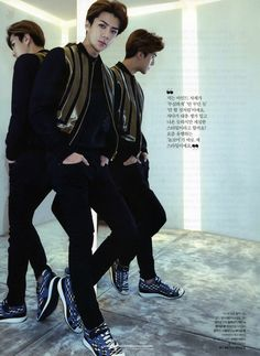 exochocolate: [HQ scans + translations] EXO in Seoul: The Celebrity, January 2015 issue