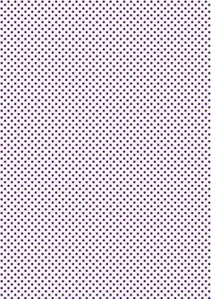 FREE printable polka dot pattern paper | #purple #polkadot