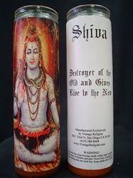 Shiva Altar Candle