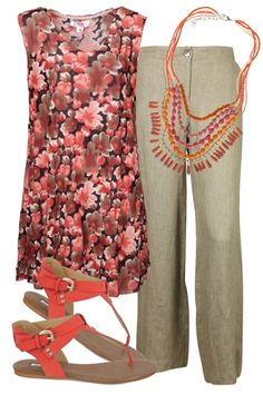 birdsnest Outfit of the Day for 25th September, 2012. Lightweight linen combined with tribal accessories create a perfect smart casual ensemble.
