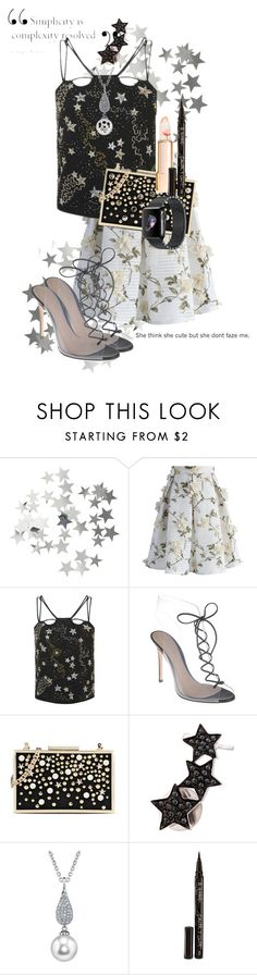 """""""Untitled #312"""" by love-dlv ❤ liked on Polyvore featuring H&M, Chicwish, Topshop, Gianvito Rossi, Karl Lagerfeld, Alinka, Smith & Cult, men's fashion and menswear"""