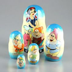 Snow White Nesting Dolls