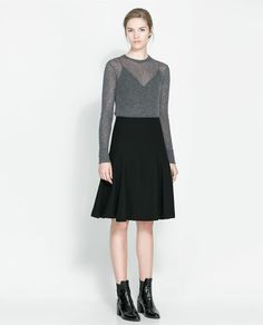 Zara- I kind of want to wear more long skirts....