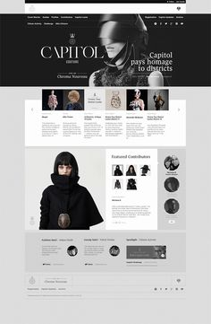 Capitol Couture Tumblr Site by Watson