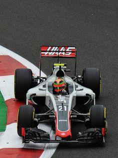 Esteban Gutiérrez, Haas F1 Team VF-16 2016/10/17 para 2016/10/30 Autodromo Hermanos Rodriguez