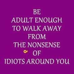 I can't tolerate inconsiderate jerks and idiots at all!