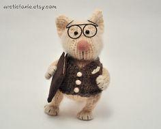 professor mouse - so very darn cute