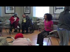 Alexis Perkins Zumba Gold (Chair) Limbo Rock  FUN FUN FUN