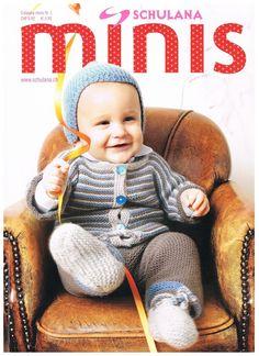 "Strickheft Anleitungsheft Babymode Kindermode Schulana ""Minis"" | eBay"