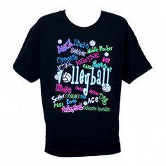 Volleyball graffiti t-shirt!