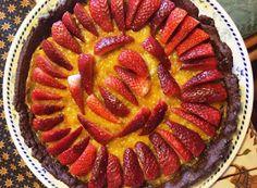 Cucinare che Passione: Crostata al cacao con lemon curd e fragole fresche