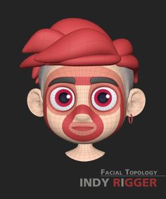 Face Reference, Animation Reference, Face Topology, Low Poly Models, 3d Face, Blender 3d, Wireframe, Maya, Script