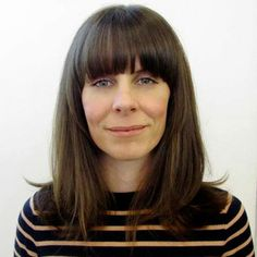 Jemma by Charlie: Mid-length haircut with rounded fringe