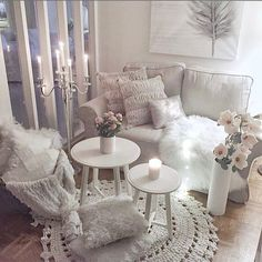 Modern home design Cute Living Room, Living Room Decor, Cozy Living, Living Room Designs, Living Spaces, Design Apartment, Dream Rooms, New Room, Home Fashion