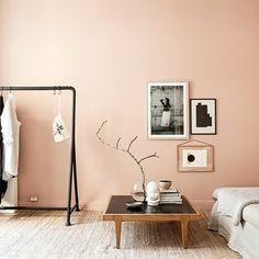 The strange allure of Swedish estate agents Best Bedroom Colors, Bedroom Paint Colors, Bedroom Color Schemes, Peach Paint Colors, Bedroom Wall Paints, Wall Painting Colors, House Painting, Pastel Colors, Room Color Ideas Bedroom