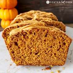 Pumpkin Butterscotch Bread- this easy quick bread has all the fall flavors you know and love with the delicious addition of butterscotch!