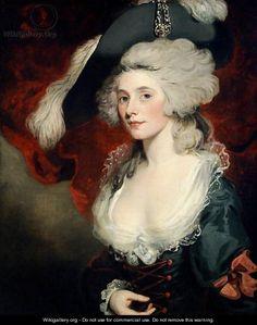 Mary Robinson (1758-1810) as Perdita, by John Hoppner