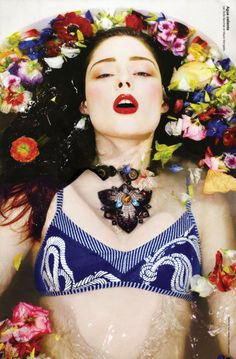 Photographer - Joe Average; model - Coco Rocha