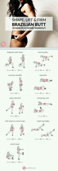 Brazilian Butt workout | Posted By: NewHowToLoseBellyFat.com