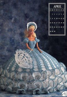Although I am not a fan of Barbie, I'm a fan of happy little girls and beautiful needlework. So instead of buying the expensive ready-made clothing, often made by underpaid workers, here are some great outfits you can make yourself.    Crochet barbie dress