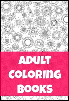 18 Adult Coloring Books - Grown up coloring pages are sooo much fun and make great gifts. Complex mandalas, difficult owls, detailed forest scenes and more