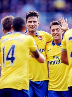 Arsenal, Özil, Giroud
