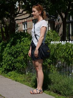 Look of the day: Saturday. See all details here: http://www.kathrinerostrup.dk/2013/06/dagens-outfit-saturday/