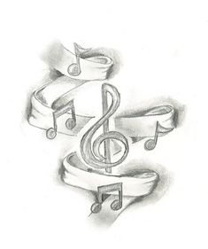 music note tattoo designs