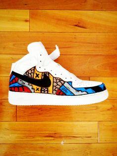 SLOTH Nike Air Force 1's