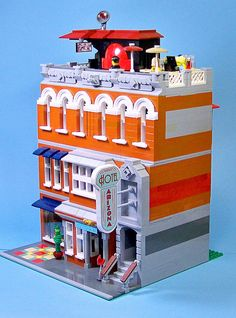 Lego Hotel Arizona 04 | by 60sfunnycars