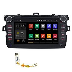 Best price on JOYING 8 Inches Quad Core 1024x600 Resolution for Toyota Corolla 2007 2008 2009 2010 2011 2012 2013 in Dash Hd Capacitive Multi-touch Screen Car DVD Player Fm/am Radio Stereo GPS Navigation // See details here: http://bestmediashopping.com/product/joying-8-inches-quad-core-1024x600-resolution-for-toyota-corolla-2007-2008-2009-2010-2011-2012-2013-in-dash-hd-capacitive-multi-touch-screen-car-dvd-player-fmam-radio-stereo-gps-navigation/ // Truly a bargain for the inexpensive…