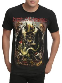 48c14ae92a223 Avenged Sevenfold World Tour 2015 T-Shirt. HotTopic