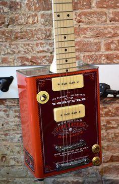 Vintage Stuff and Antique Designs Guitar Body, Music Guitar, Guitar Amp, Cool Guitar, Unique Guitars, Vintage Guitars, Cigar Box Nation, Resonator Guitar, Acoustic Guitar Strings