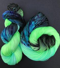 Quench Hand dyed yarn sock weight Superwash Merino 463