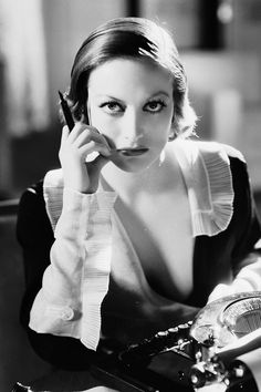 barbarastanwyck:  Joan Crawford in Grand Hotel, 1932