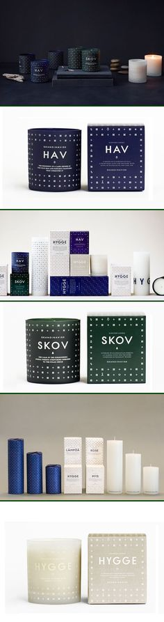 making patterns out of icons // blend tech and fashion // Found it G Petersdotter the expanded pin for Skandinavisk's gorgeous candle PD Packaging Box, Candle Packaging, Candle Labels, Beauty Packaging, Cosmetic Packaging, Brand Packaging, Pretty Packaging, Label Design, Box Design