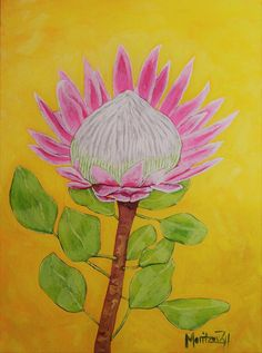 Image result for protea painting Painting, Image, Art, Idea Paint, Art Background, Painting Art, Kunst, Paintings, Performing Arts