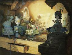 Roba da Disegnatori: Storia dell'Illustrazione: Gustaf Tenggren