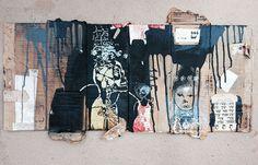 Artwork by Orly Avineri with her stencil designs from StencilGirl.