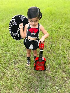 This Mariachi Romper is perfect for Cinco de Mayo, Birthday party or Mexico's Independence Day. Buttons and bow for this romper may vary. This listing is only for the romper Mexican Fashion, Mexican Outfit, Mexican Dresses, Mexican Birthday Parties, Mexican Party, Day Party Outfits, Kids Outfits, Mexican Halloween Costume, Dress For Girl Child