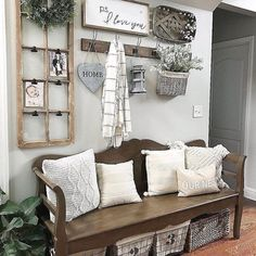 28 Popular Farmhouse Wall Decor Ideas - Popy Home