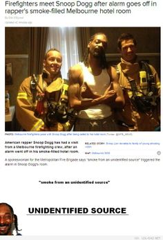 Unidentified source #snoopdogg #firefighter #funny