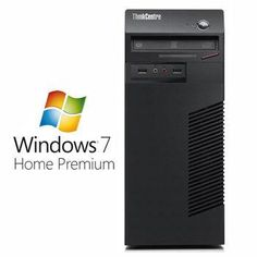 Calculatoare Refurbished Lenovo ThinkCentre M71e, i3-2100, Win 7 Home