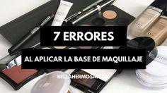 errores comunes al aplicar la base de maquillaje