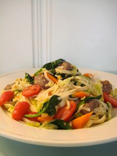 Jenny Steffens Hobick: Recipes | Thai Steak Noodle Salad