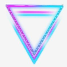Triangle Neon Color Illuminate Luminous Material Border Glow Neon Effect Game Effects In 2020 Hologram Colors Neon Neon Backgrounds