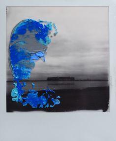 Elsa K. Gaertner: Overpainted Photograph - Got stuck in the mud