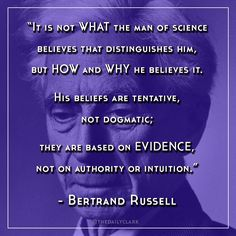 Bertrand Russell | The Man of Science | Philosophical Atheism